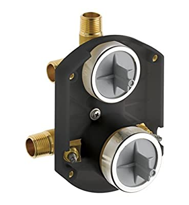 Brizo R75000-WS Universal MultiChoice Diverter Rough-In Valve with Stops Valve Rough In