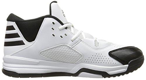 adidas Performance Herren First Step Basketballschuh Schwarz / Weiß / Schwarz