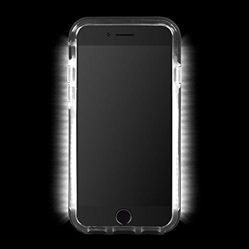 Case-Mate Allure Selfie LED Licht Hülle für iPhone 7Plus/6S Plus/6PLUS–Schwarz