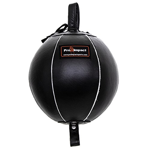 Pro Impact Genuine Leather Double End Boxing Punching Bag 7'