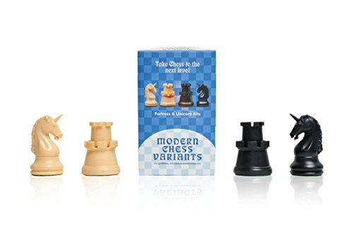 Fortress and Unicorn - Musketeer Chess Variant Kit - 4 Set - by The House of - Fortress Chess Board