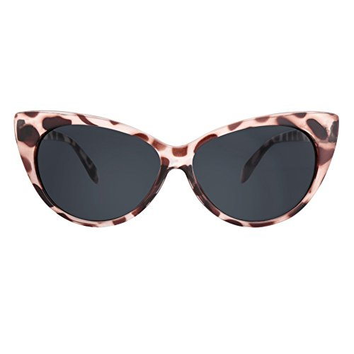 Glasseslit Inspired Womens Super Cateyes Sunglasses Uv Protection