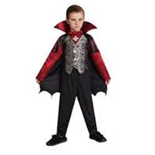 Totally Ghoul Boys' Prince of Darkness Halloween Costume, Medium, (Prince Of Darkness Child Costumes)