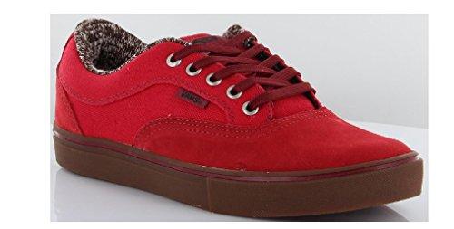 Vans, Sneaker uomo Red/Gum 8 UK