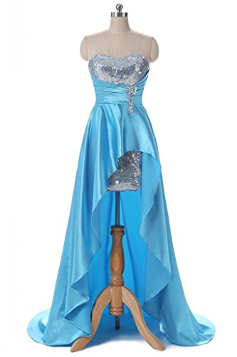 Buy light blue and silver wedding dresses - 5