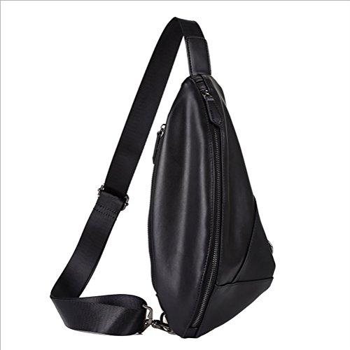 For Backpacks 15 X Shoulder Or Travelling Triangle Bags Brown Chest Size Daypacks Multipurpose Cycling Lightweight Sling Black Crossbody 32cm Pack 3 Walking Rucksack color qzHCH5ER