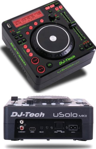 DJTECH USOLOMKII Digital DJ Turntable