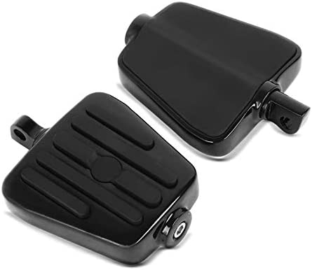 Pedane Conducente-Passeggero MT1 per Harley Softail Standard//Street Bob nero