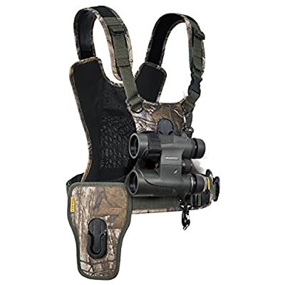 Image of Camera & Camcorder Straps Cotton Carrier CCS G3 Camera and Binocular Harness - Camo