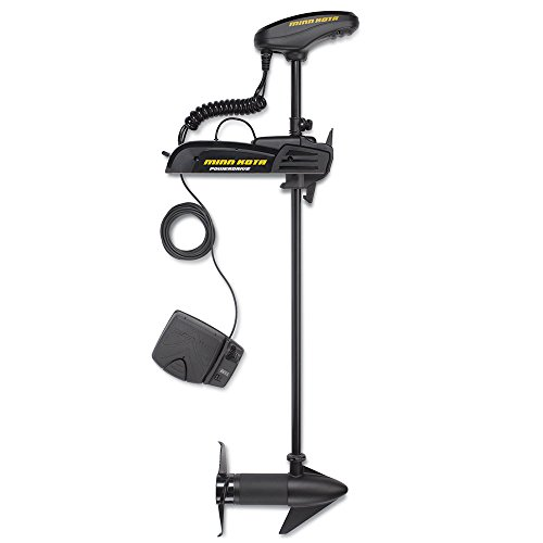 Minn Kota 1358745 Pontoon Powerdrive 54_BT Trolling Motor with Bluetooth (54-lb Thrust, 48' Shaft)