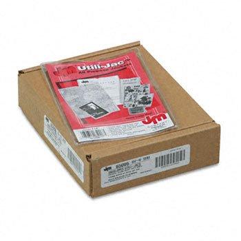 Esselte Utili Jac Vinyl - Rapid Utili-Jacs Heavy-Duty Clear Vinyl Envelopes, 4 x 6, 50/Box