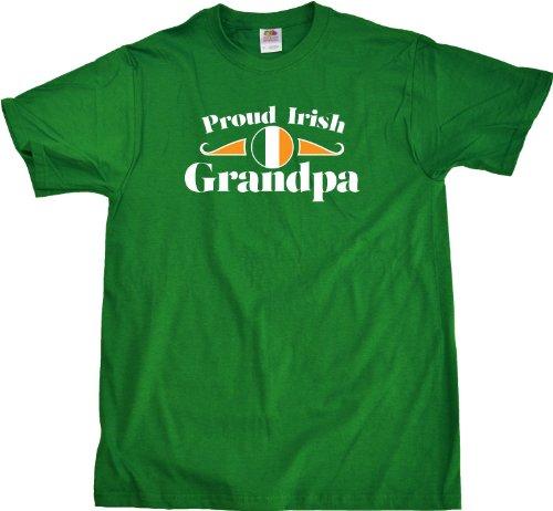 Proud Irish Grandpa | Ireland Pride Unisex T-shirt Ireland Grandparent Shirt