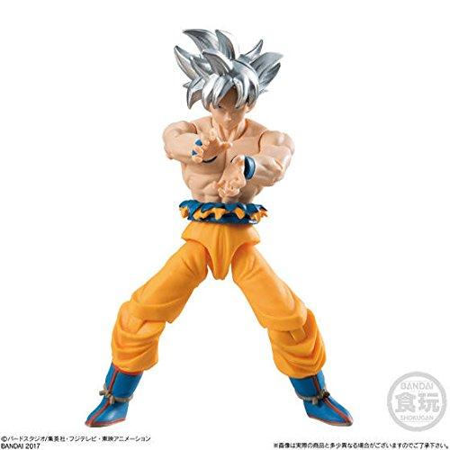 Dragon Ball Super Son Goku Ultra Instinct Character Action Figure Shokugan Shodo Vol.6