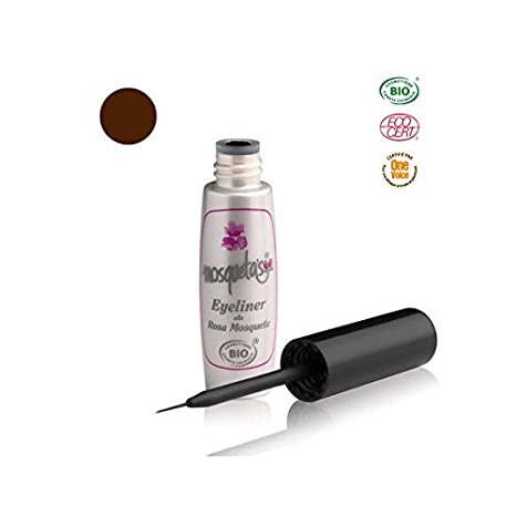 Eyeliner Bio Marrón (con aceite de rosa musquée de Chile 5 ml
