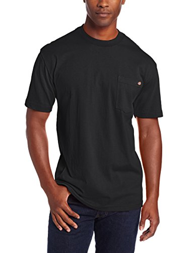 Dickies Men's Heavyweight Crew Neck Short Sleeve Tee Big-tall,Black,Large Tall by Dickies