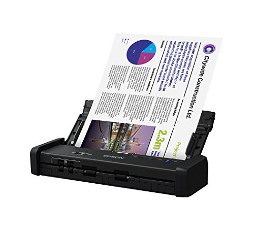 Epson WorkForce ES-200 Color Portable Document Scanner with ADF for PC and Mac, Sheet-fed and Duplex Scanning by Epson (Image #1)