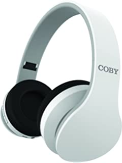 Coby Ovation Wireless Headphones w/Mic - White