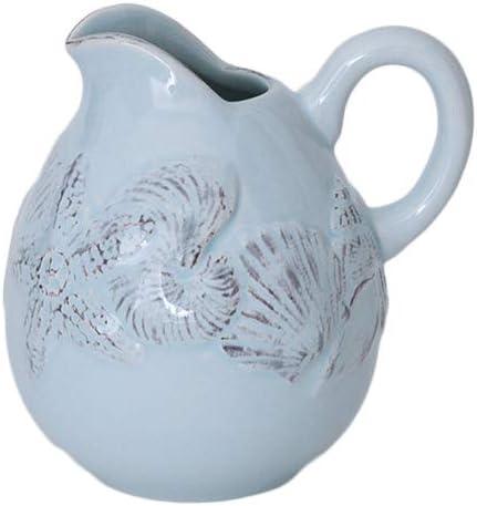 Multi Blue Sky Ceramics Blue Shell Menagerie Creamer