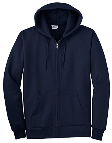 Port & Company Men's Big And Tall Full-Zip Hooded