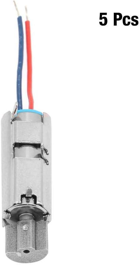 5V Mini Motor for Handheld Detection Equipment 5Pcs 11500rpm Vibration Motor Micro Coreless Brushed Motors