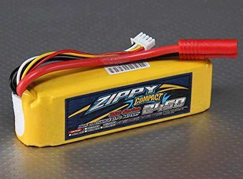 Compact 11.1V 2450mAh 35C45C ZIPPY リポバッテリー