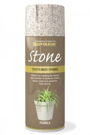 Rust Oleum Stone Textured Multi Colour Premium Spray Paint Grey