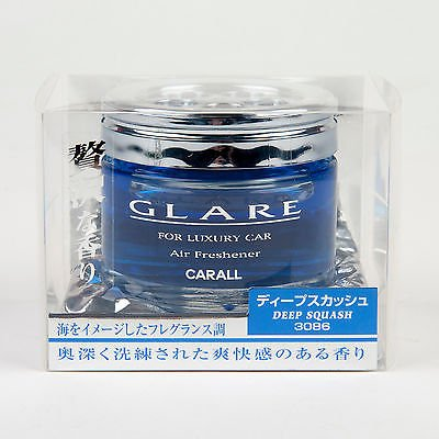 Carall Glare Luxury Car Air Freshener DEEP SQUASH 3086 - Made in Japan
