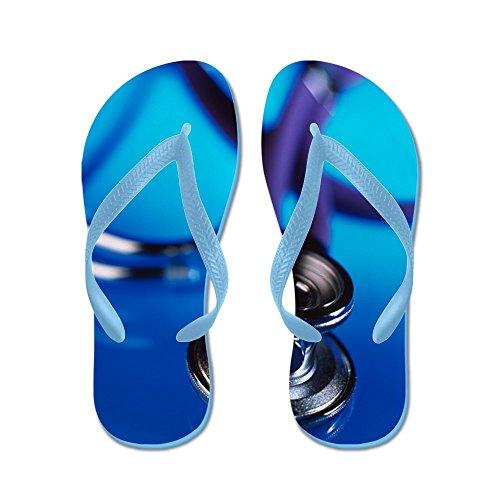 Stéthoscope Cafepress - Tongs, Sandales String Sexy, Sandales De Plage Bleu Caraïbes
