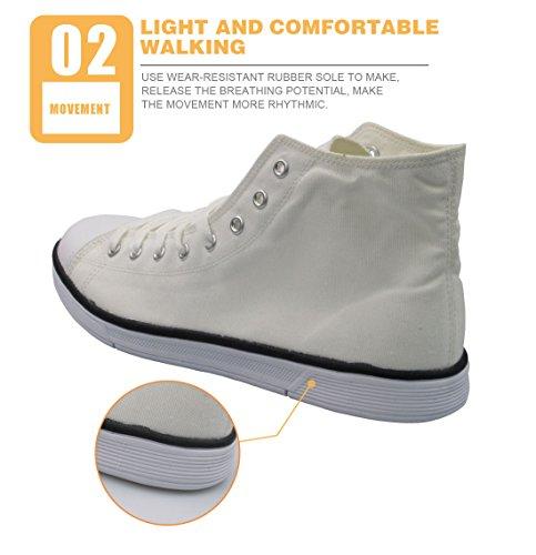 Ledback High-top Melkweg Canvas Schoenen Voor Dames Causale Sneakers Tieners Meisjes Lichtgewicht 3d Trainers Ontwerp 9