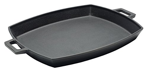 Bayou Classic 7471, 12 x 14-in Cast Iron Shallow Baking - Iron Classic Cast Bayou Pan