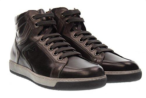NERO GIARDINI Scarpe Uomo Sneakers Alte A705351U/101 Antracite Antracite Fumo Venta Con Paypal Tienda De Venta Online Despeje cJHUMLf5i