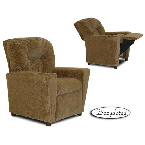 Cup Holder Leather Like Kid's Recliner Upholstery: Hot Chocolate (Hot Chocolate Recliner)