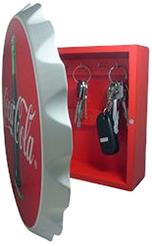 - Sunbelt Gifts 7601-27 Key Box, Wood, Contour Bottle Crown, Multi