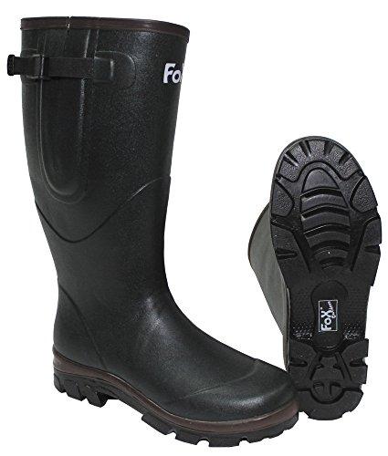 kaki 45 dimensioni fodera gomma di in Stivali neoprene 0Z41x1