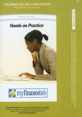 MyFinanceLab with Pearson eText -- Access Card -- for Principles of Managerial Finance (MyFinanceLab (Access Codes))
