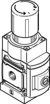 Festo 538035 MS6N-LRP-1/4-D7-A8 Precision Pressure