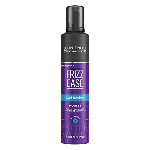 John Frieda Frizz Ease Curl Reviver Mousse, 7.2 Ounces Best Curl Mousse