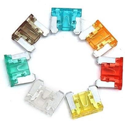 C-FUN 100 Pcs Coloridos Autos DIY Medio Perfil Bajo Coche Caja De Fusibles Kit: Amazon.es: Hogar