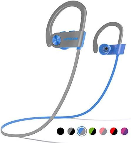 [해외]LETSCOM 블루투스 헤드폰 IPX7 방수 무선 스포츠 이어폰 / LETSCOM 블루투스 헤드폰 IPX7 방수 무선 스포츠 이어폰