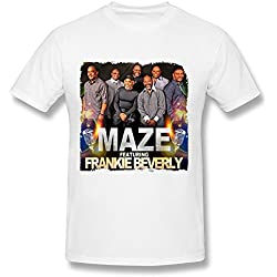 Maze Featuring Frankie Beverly Tour 2016 T Shirt For Men White L