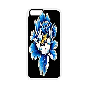 Custom Case tree peony flower For iPhone 6 Plus 5.5 Inch Q3V753091