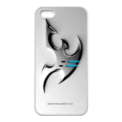 Starcraft Ii 1 coque iPhone 4 4s cellulaire cas coque de téléphone cas blanche couverture de téléphone portable EEECBCAAN00823