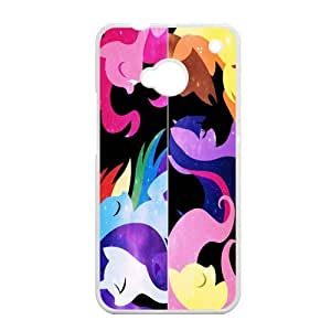 EVA My Little Pony HTC ONE M7 Case, My Little Pony Hard Plastic Protection Cover for HTC ONE M7 by mcsharks