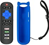 Motiexic Remote Control Compatible with TCL Roku TV Remote 55R625 65R625 60S42 50S423 55S423 50S425 55S425 65S425 85S425 65S525 55S525 50S525 43S525 40S321 50S421 43S421 49S515 43S515 55S515 65S515