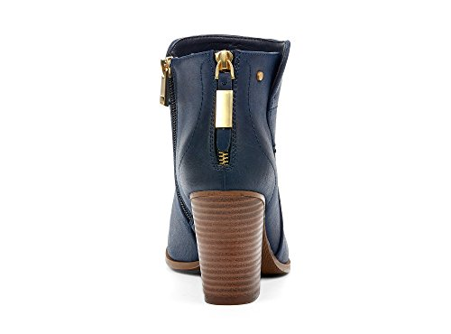 Yellow Medium Casual Fashion Montana Synthetic Comfortable Chelsea High Fall Boots Block Shoes blue Heel Women Booties Leather Memory Trendy Navy Spring Foam Ankle vwqxOtfw