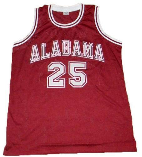 46cf8153594 Robert Horry Autographed Jersey - Alabama Crimson Tide  25 Coa -  Autographed College Jerseys at Amazon s Sports Collectibles Store