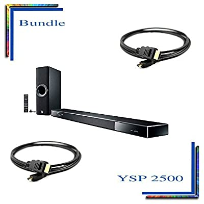 YSP-2500 Digital Sound Projector Powered home theater sound bar with wireless...