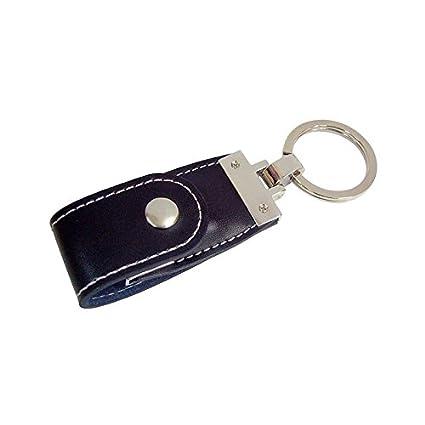 BUYGIFTS LLAVERO CUERO NEGRO USB 8 GB: Amazon.es: Hogar