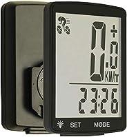 MooseLand Wireless Bicycle Cycling Computer Waterproof Bike Speedometer Odometer with 2.8'' Larg