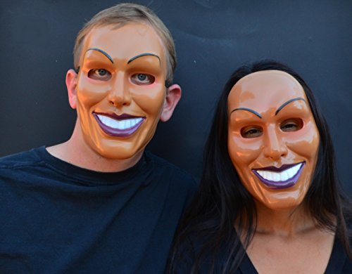 Acid Tactical Scary Creepy Halloween The Purge Mask (Male & Female Set) -